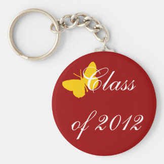 Class of 2012 - Cardinal Butterfly Keychain