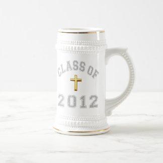 Class Of 2012 Christian Cross - Grey 2 Coffee Mug