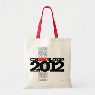 Class of 2012 conGRADulations Bag Black