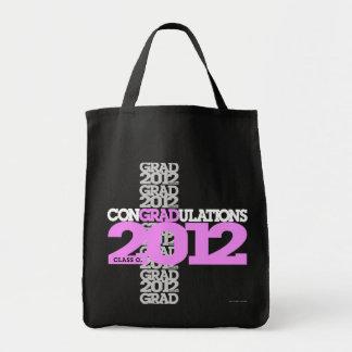 Class of 2012 conGRADulations Bag Pink