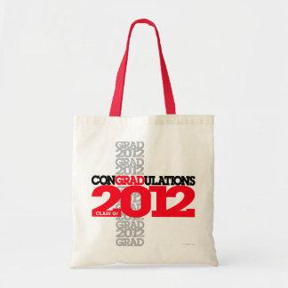 Class of 2012 conGRADulations Bag Red