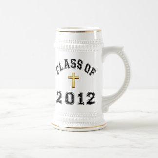 Class Of 2012 Cross  - Black 2 Mugs