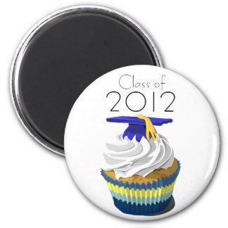 Class of 2012 cupcake magnet