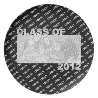 Class of 2012 Cut Out Photo Frame - I Did It Dinner Plate