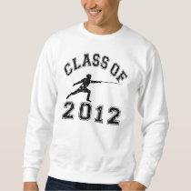 Class Of 2012 Fencing - Black 2 Sweatshirt