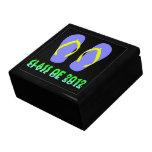 Class Of 2012 Flip Flop - YBGT Keepsake Boxes
