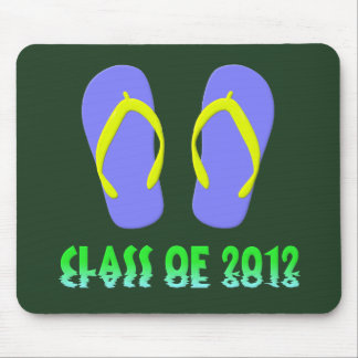 Class Of 2012 Flip Flop - YBGT Mouse Pad