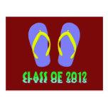 Class Of 2012 Flip Flop - YBGT Postcard