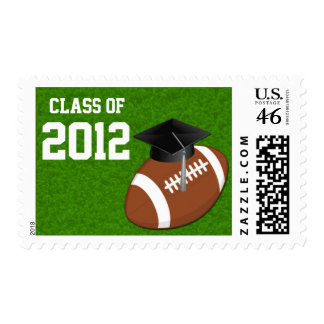 Class of 2012 Football Graduation Stamps