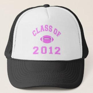 Class Of 2012 -  Football Pink Trucker Hat