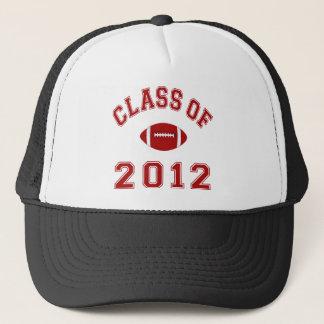 Class Of 2012 - Football Red Trucker Hat