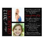 "Class of 2012 Graduate Announcement 5"" X 7"" Invitation Card"