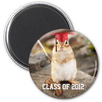 Class of 2012 Graduating Chipmunk Magnet