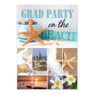 Class of 2012 Graduation Beach Party Card