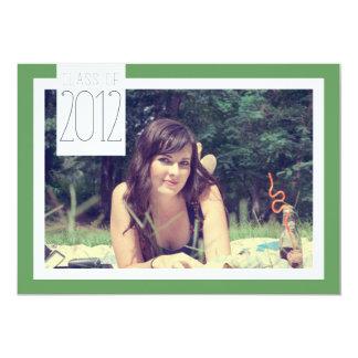 Class of 2012 - Graduation Celebration 5x7 Paper Invitation Card