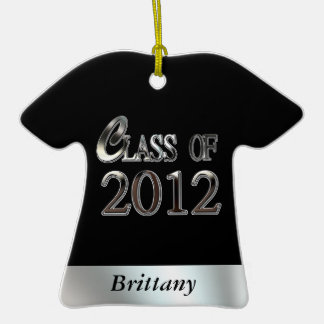 Class Of 2012 Graduation Cute Shirt Ornament