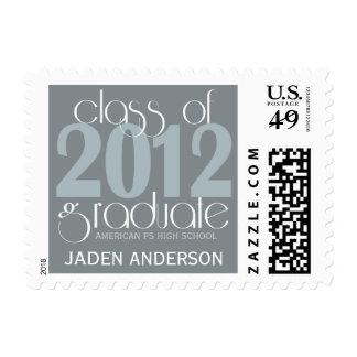 Class of 2012 Graduation Graduate Postage Stamp