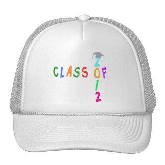 Class Of 2012 Graduation Mesh Hat