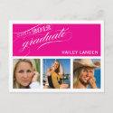 Class of 2012 Graduation Invitation Postcard postcard