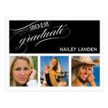 Class of 2012 Graduation Invitation Postcard