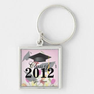 Class of 2012 Graduation Key-Chain Pink Key Chain