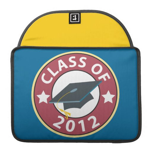 Class of 2012 Graduation MacBook Pro Sleeve