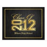 "Class of 2012 Graduation Party Invitation 4.25"" X 5.5"" Invitation Card"
