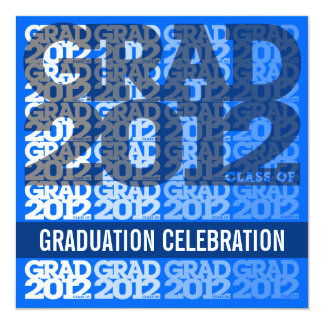 Class Of 2012 Graduation Party Invitation 12BS