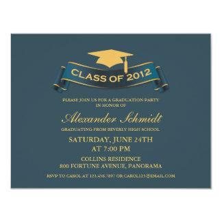 Class of 2012 Graduation Party Ribbon Invitation