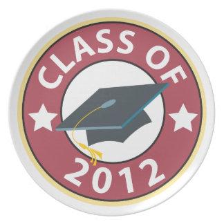 Class of 2012 Graduation Plate