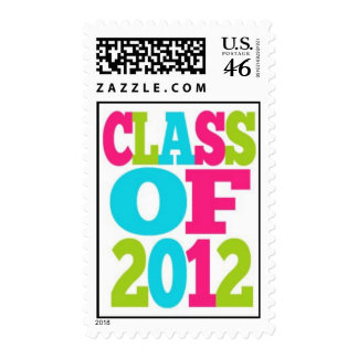 Class of 2012 Graduation Postage Stamp