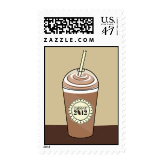 Class of 2012 Graduation Postage - Iced Coffee