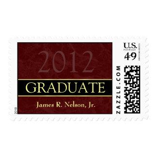 Class of 2012 Graduation Postage Stamp