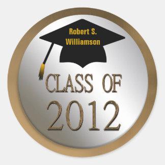 Class Of 2012 Graduation Seals Stickers
