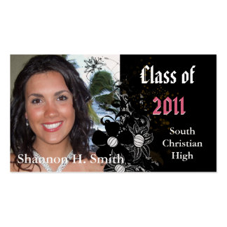 Class of 2012 Graduation Senior Cards Business Card
