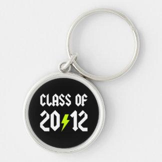 Class Of 2012 Graduation Yellow Bolt Keychain