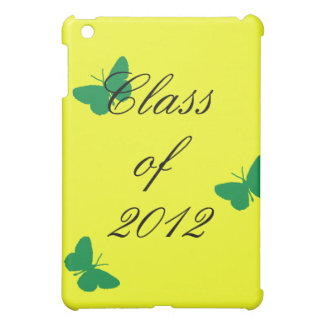 Class of 2012 - Green and Yellow Butterfly iPad Mini Case