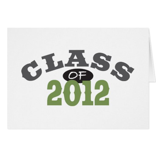 Class Of 2012 Green Card