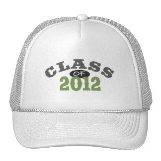 Class Of 2012 Green Mesh Hat
