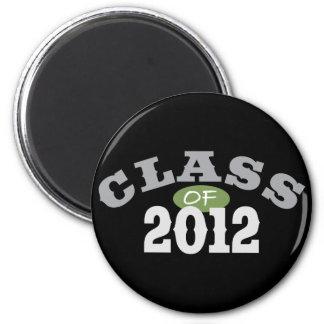 Class Of 2012 Green Magnet