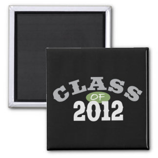 Class Of 2012 Green Refrigerator Magnets