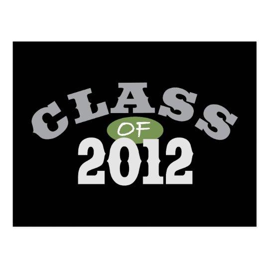 Class Of 2012 Green Postcard