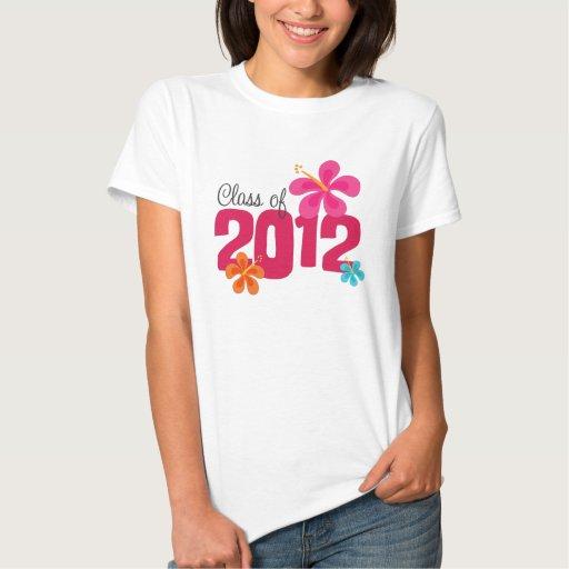 Class of 2012 Hibiscus Graduation T-Shirt