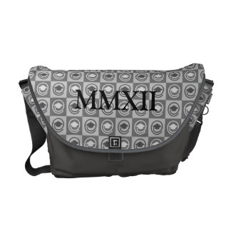 Class of 2012 in Roman Numerals Messenger Bag