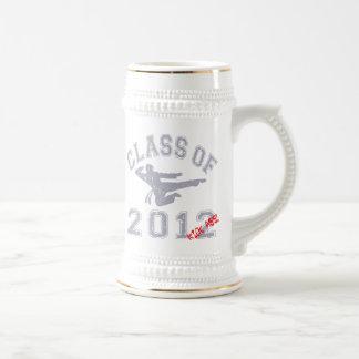 Class Of 2012 Kick-Ass - Grey 2 D Beer Stein