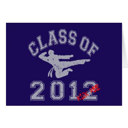 Class Of 2012 Kick-Ass - Grey 2 D Cards