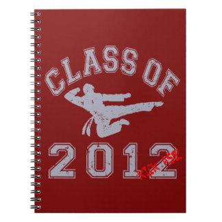 Class Of 2012 Kick-Ass - Grey 2 D Notebook