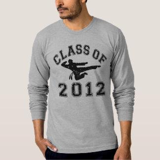 Class Of 2012 - Martial Art 2 D T Shirt