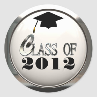 Class Of 2012 Or Any Year Graduation Stickers