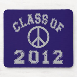 Class Of 2012 Peace -Grey 2 Mouse Pad